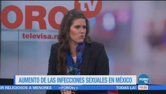 Aumento de las infecciones sexuales en México