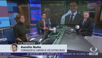 Aurelio Nuño habla del cambio de nombre de la coalición del PRI