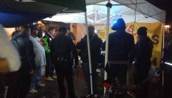cierran locales por venta de cerveza en calles de iztapalapa