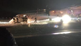 Avión de pasajeros aterriza de emergencia en Polonia