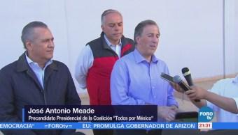 Beltrones respalda a Meade en Sonora