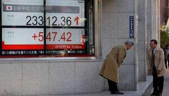 Bolsa de Tokio cierra en alza, supera las 24 mil unidades