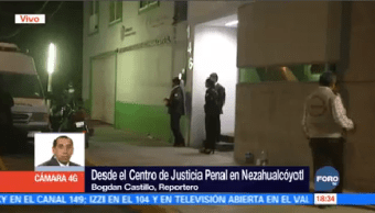 Borge Ingresa Centro Justicia Penal Neza