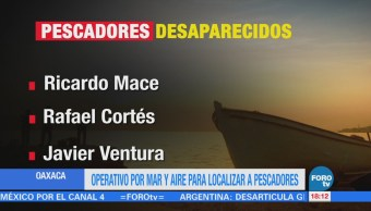 Buscan Pescadores Desaparecidos Costas Oaxaca