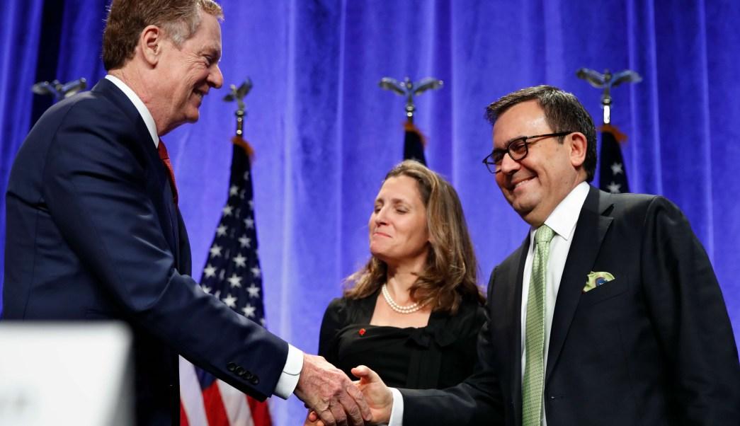 Canadá y México expresan optimismo sobre negociación del TLCAN