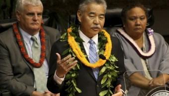 Gobernador no detuvo alerta misiles Hawaii olvidar su Twitter