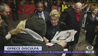 Catherine Deneuve se disculpa con víctimas de abusos sexuales