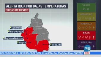 CDMX, en alerta por frío; hoy no hay clases en cinco delegaciones
