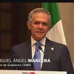 CDMX presenta Plan de Reconstrucción, tras sismo del 19S