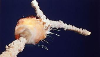 Se cumplen 32 años de la explosión del transbordador espacial 'Challenger'