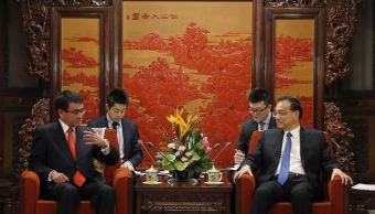Japón pide a China más presión sobre Corea del Norte