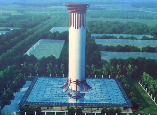 China construye purificador 100 metros reducir contaminación
