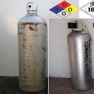 Autoridades alertan por robo de cilindro con gas cloro en Celaya, Guanajuato