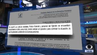 Cndh Pide Gobierno Guerrero Tomar Medidas Cautelares