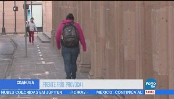 Coahuila Registra Lluvias Intermitentes Frente Frío