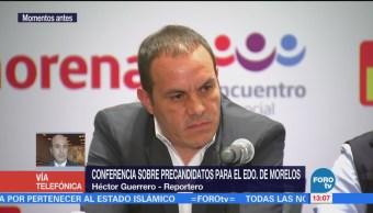 """Coalición """"Juntos Haremos Historia"""" ofrecen conferencia de prensa"""
