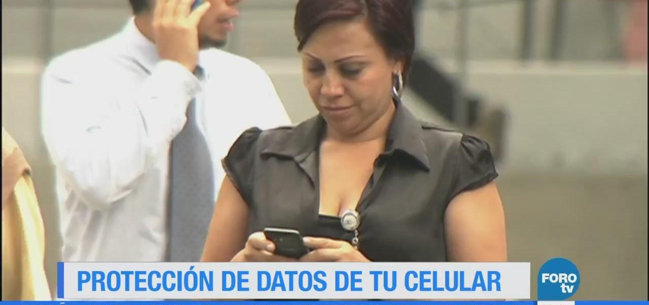 Cómo los datos personales de tu celular