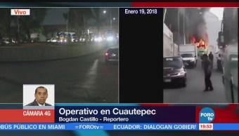 Concluye Operativo Seguridad Cuautepec