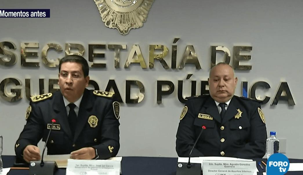 SSPCDMX identifica a policías implicados en detención de Marco ...