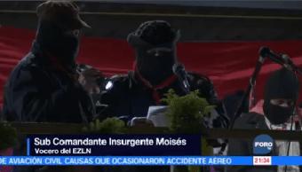 Conmemoran 24 Años Movimiento Zapatista Chiapas,
