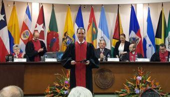 Juez mexicano Ferrer McGregor, presidente de la CorteIDH.