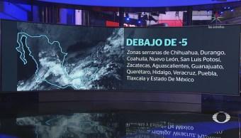 Cuajimalpa Ajusco Registran Caída Aguanieve