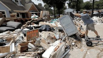 Daños por el huracán 'Harvey' en Texas. (AP, archivo)