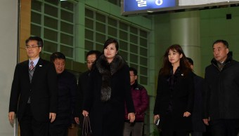 delegacion de corea del norte visita seul