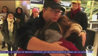 Deportan a mexicano desde Estados Unidos; lo despide su familia