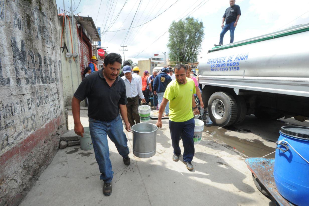 100 colonias de Ecatepec se quedarán sin agua