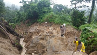 Deslizamiento tierra deja cuatro muertos Honduras