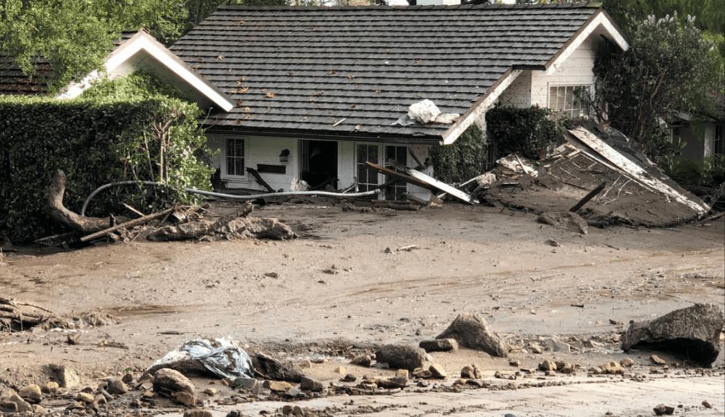 Deslizamientos de tierra en California. (Reuters)