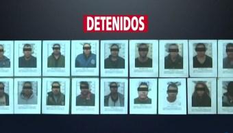 detienen banda secuestradores zacatecas 5 eran policias