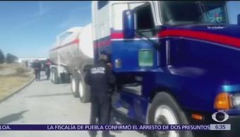 Detienen a cinco huachicoleros; dos fueron identificados como expolicías