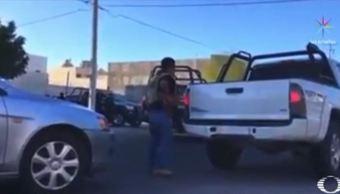 Detienen a cuatro hombres y una mujer en La Paz