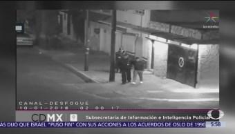 Detienen a ladrones de autopartes en la delegación GAM, CDMX
