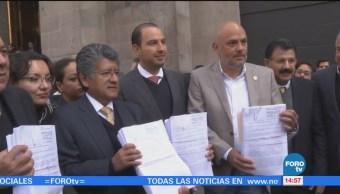 Diputados presentan demanda contra Ley de Seguridad Interior