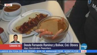 Disfrutan Mariscos Colonia Obrera Comensales Restaurante Disfrutan