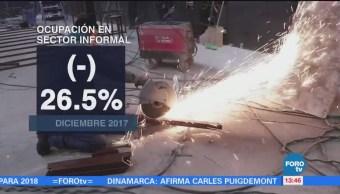 Disminuye al 3.4% la tasa de desocupación en México: INEGI