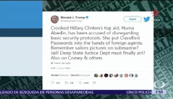 Donald Trump Acusa Conspiración Gobierno