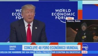 Donald Trump Participación Foro Económico