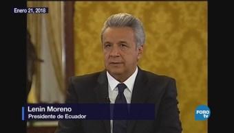 """Ecuador busca resolver el """"problema heredado"""" de Assange"""