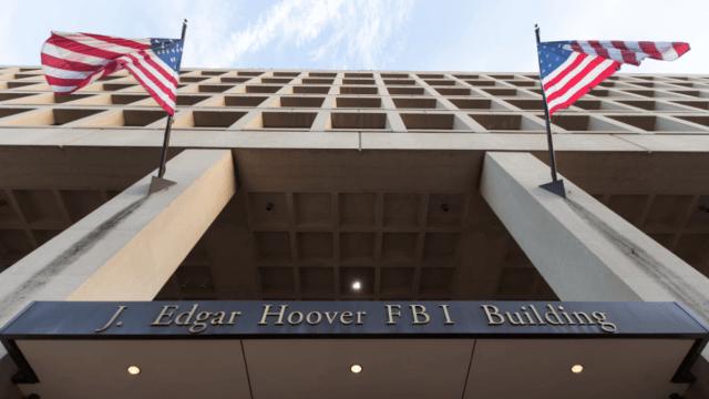 Edificio del FBI en Washington, Estados Unidos