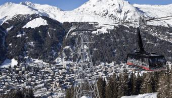El Ejército suizo prepara la seguridad del Foro de Davos