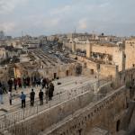 Vista general de Jerusalen, en Medio Oriente