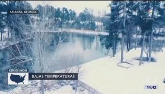 El frío rompe récords en EU