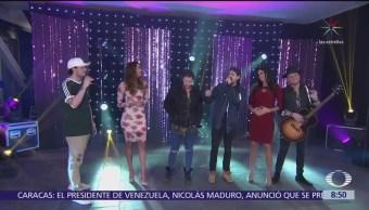 El grupo colombiano 'Piso 21' visita Al Aire con Paola