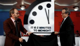 El mundo está a dos minutos del apocalipsis, según Reloj del Juicio Final