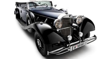 Súper Mercedes de Hitler no encuentra comprador en subasta