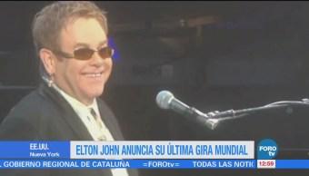Elton John anuncia su última gira mundial